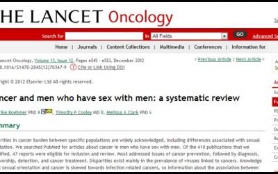 Ученые: гомосексуалисты чаще других болеют раком, а также венерическими и иными инфекционными заболеваниями